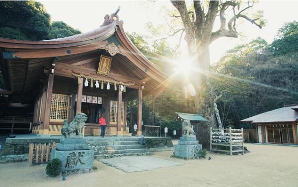 福岡ドライブ,竈門神社