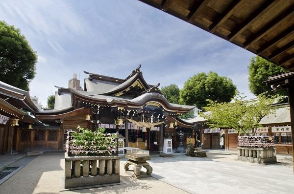 福岡市,櫛田神社