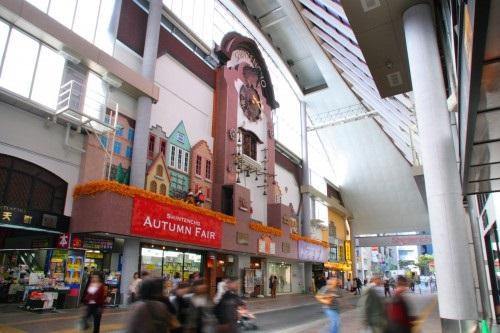 福岡 商店街,新天町