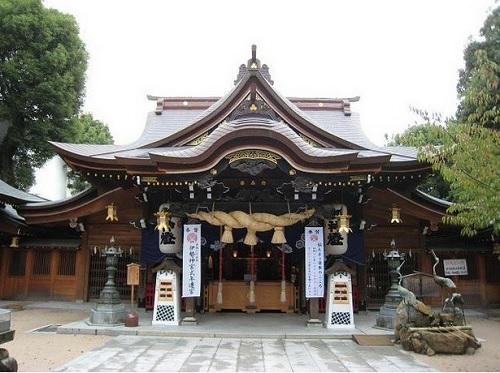 神前式,櫛田神社