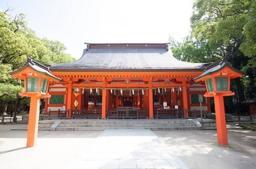 神前式,住吉神社