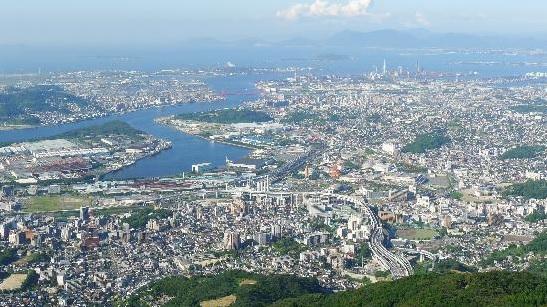 福岡ドライブ,皿倉山