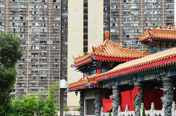 福岡直行便,香港