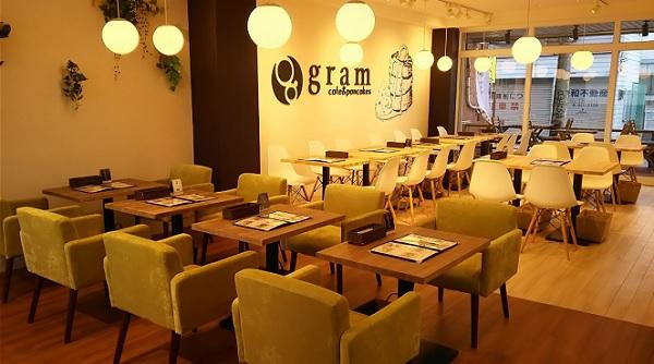 福岡パンケーキ,グラム,gram