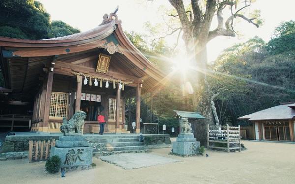 福岡縁結び,竈門神社