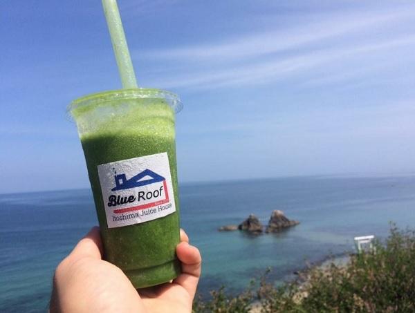 Blue Roof Itoshima Juice House,ブルールーフのスムージー