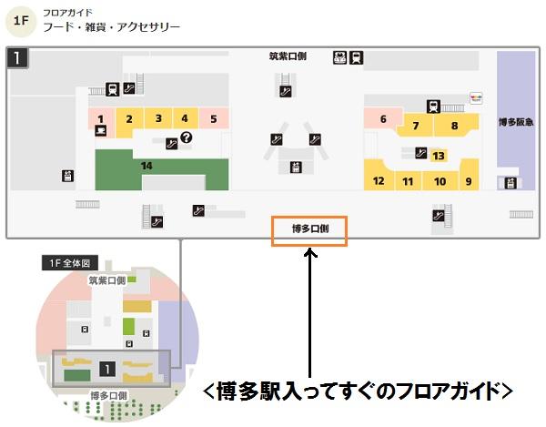 福岡ショッピング,博多駅