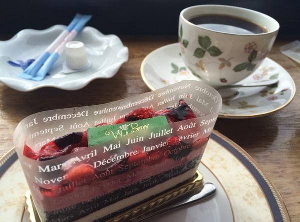 田園喫茶Wild berry,ケーキ