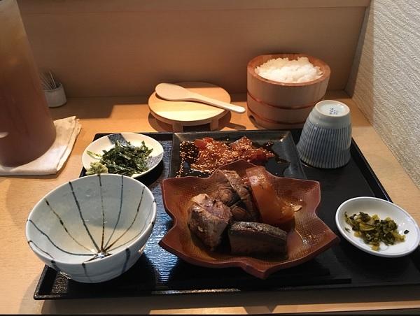和食 笠,天神ランチ,和定食,ブリ大根定食