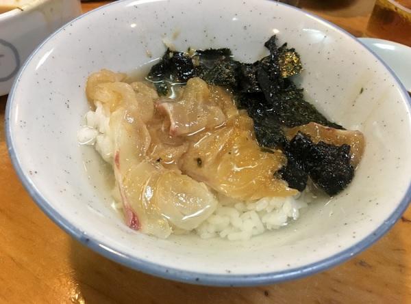 割烹よし田,福岡ランチ,天神ランチ,定食屋,鯛茶漬け