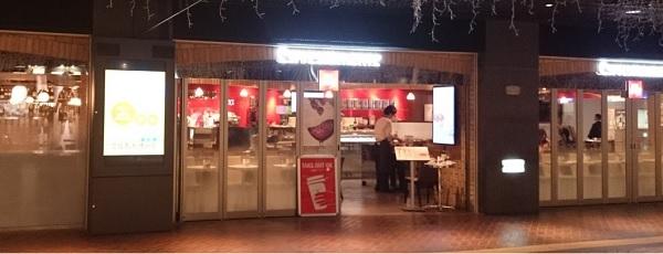 福岡カフェ,illy,イリー,天神地下街