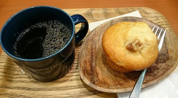 シアトルズベストコーヒー 天神西通り,天神 朝食