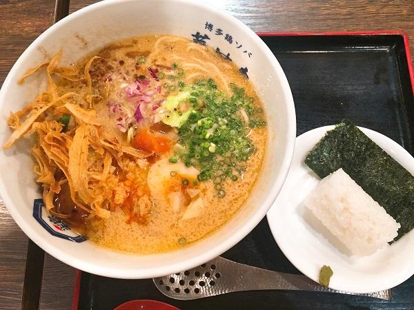 水炊き 福岡,福岡ラーメン,博多華味鳥 ランチ,鶏ソバ 華味鳥