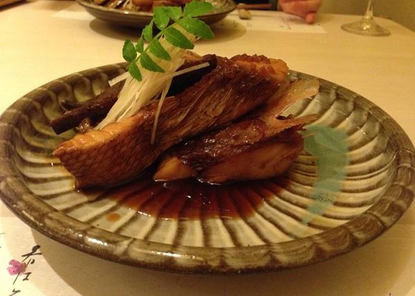 旬ぎく 煮魚