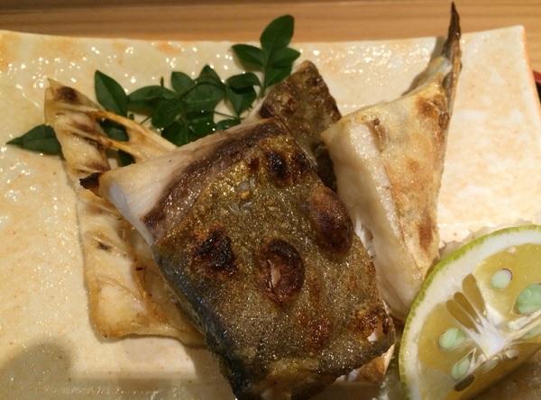 旬ぎく 焼き魚