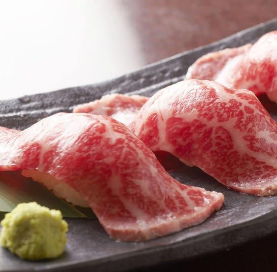 肉寿司,博多周辺寿司