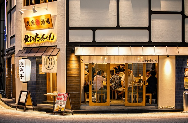 餃子のたっちゃん 中洲川端店 ,博多一口餃子