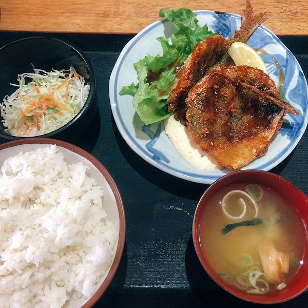 ごまさば屋 ランチ,ごまさば 福岡,ごまさば 天神,ごまさば 博多 ランチ,アジフライ定食