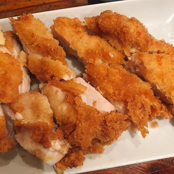 麺や おの食堂 ランチ,麺や おの 福岡,天神 ランチ 安い,チキンカツ定食
