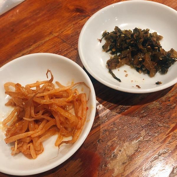 麺や おの食堂 ランチ,麺や おの 福岡,天神 ランチ 安い,ピリ辛もやし